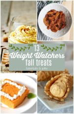 13 Weight Watchers Fall Treats That Will Transform Your Dieting Life!