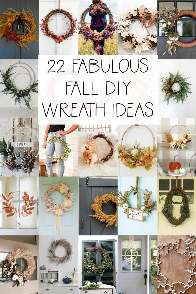 22 fabulous Fall DIY Wreath Ideas