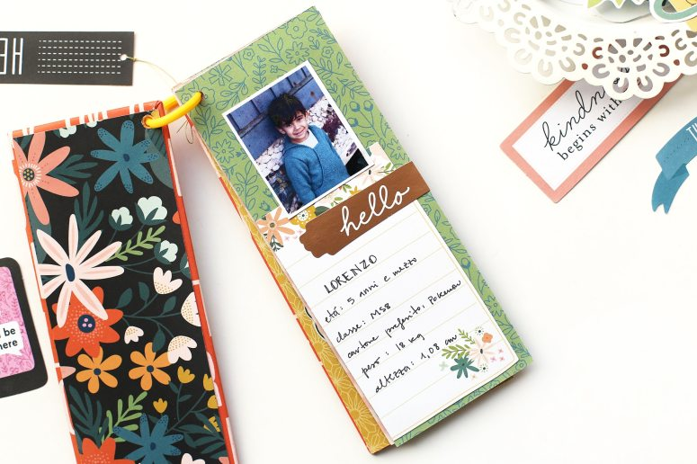 Create a Scrapbook Q & A Mini Book - gift idea! Create questions and send this little book to a loved one or friend and have them record their answers. It's a wonderful way to remember special moments!
