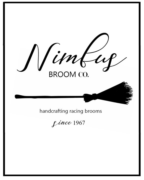 Harry Potter free printable nimbus broom co halloween printable