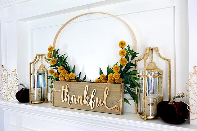 Thankful Wreath @ Eighteen 25
