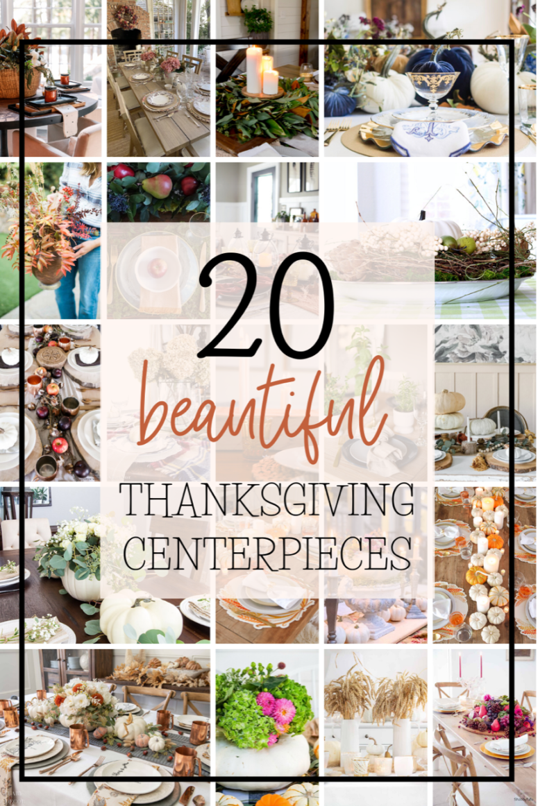 20 beautiful Thanksgiving Centerpiece ideas