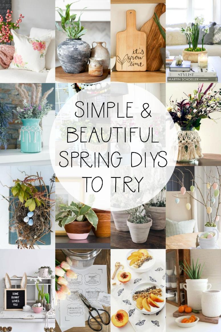 16 easy Spring DIY projects to make!