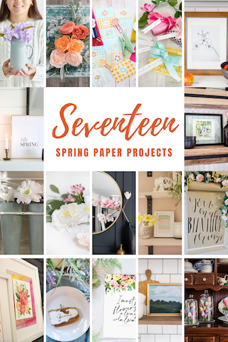 17 Spring Paper Projects