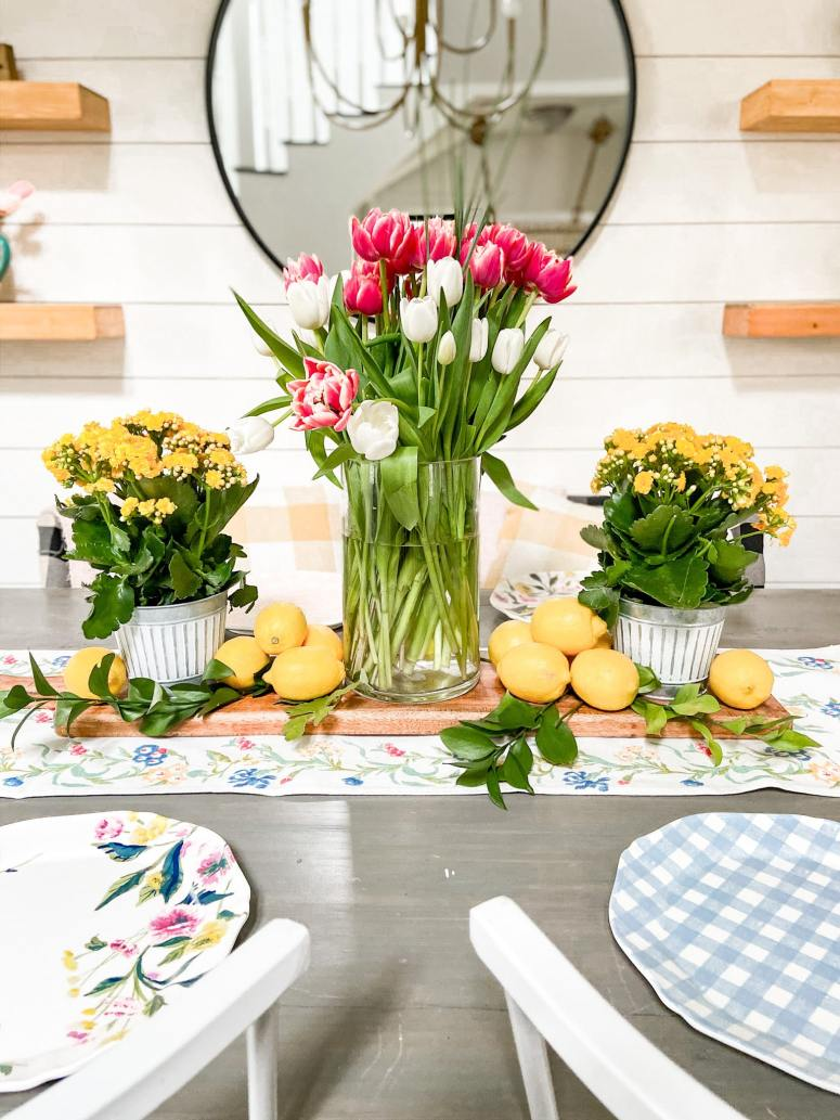 Colorful Boho Cottage Spring Tour. Bring color to your farmhouse or cottage home with these easy boho ideas!