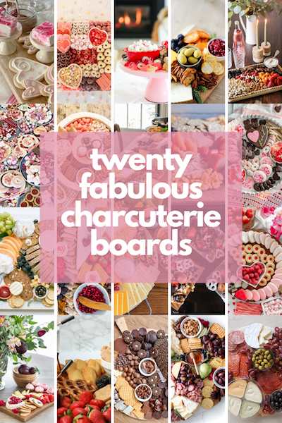 20 fabulous charcuterie boards.