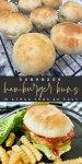 Homemade Hamburger Buns in less than an hour