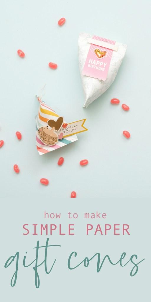 Simple Paper Gift Cones