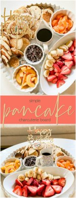 Create a Simple Pancake Charcuterie Board in Minutes!