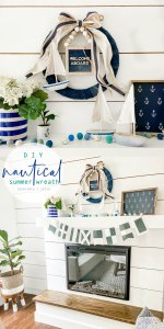 Nautical Summer Cottage Wreath