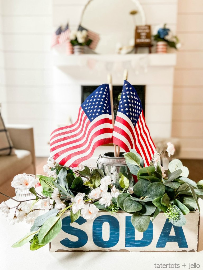 Fourth of July Centerpiece Idea
