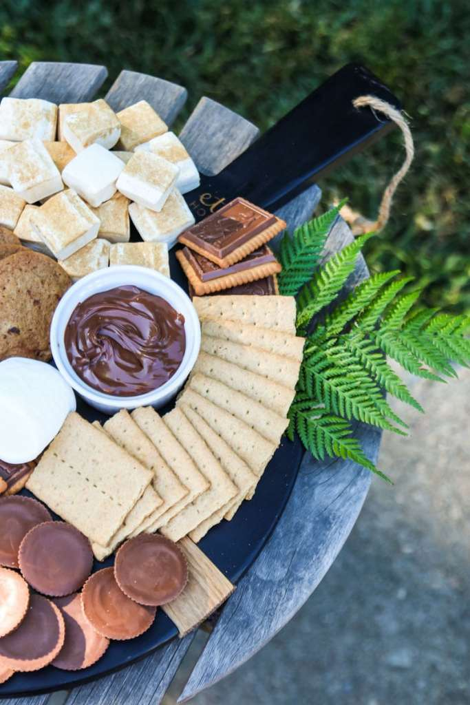 S'Mores Dessert Board at Modern Glam Home
