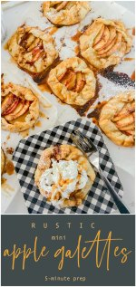 Rustic Mini Apple Galettes