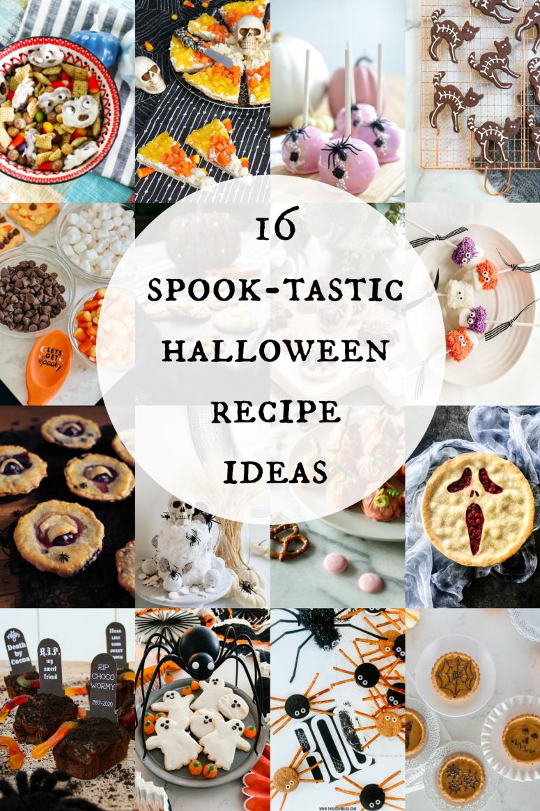 16 spook-tastic halloween #recipes #easyrecipes #foodideas #easycooking #foodie #eat #hungry #homemade #yummy #desserts #quickrecipes