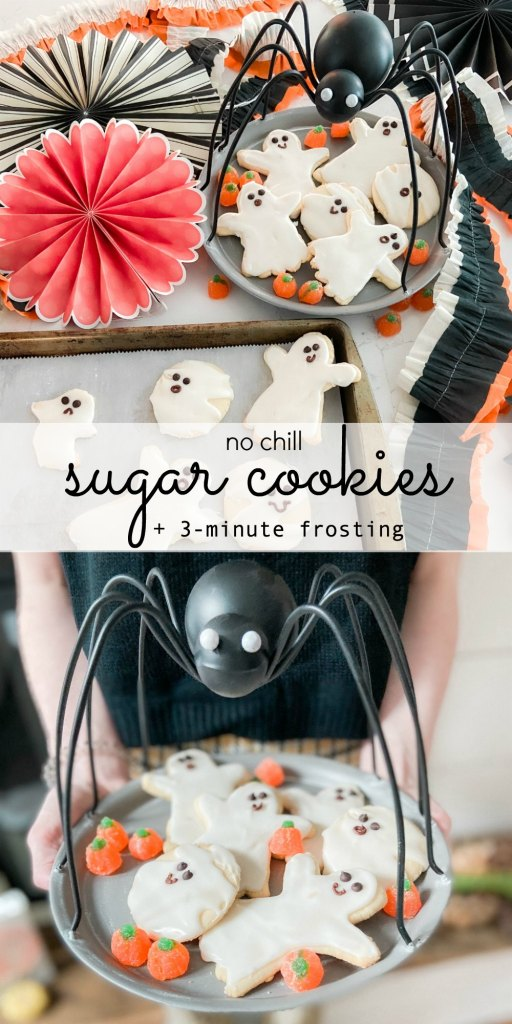 No Chill Easy Sugar Cookie Recipe and 3 Minute royal Icing