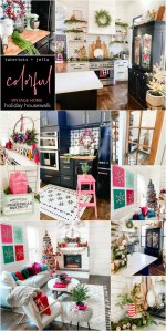 Bright and Colorful Holiday Housewalk Tour