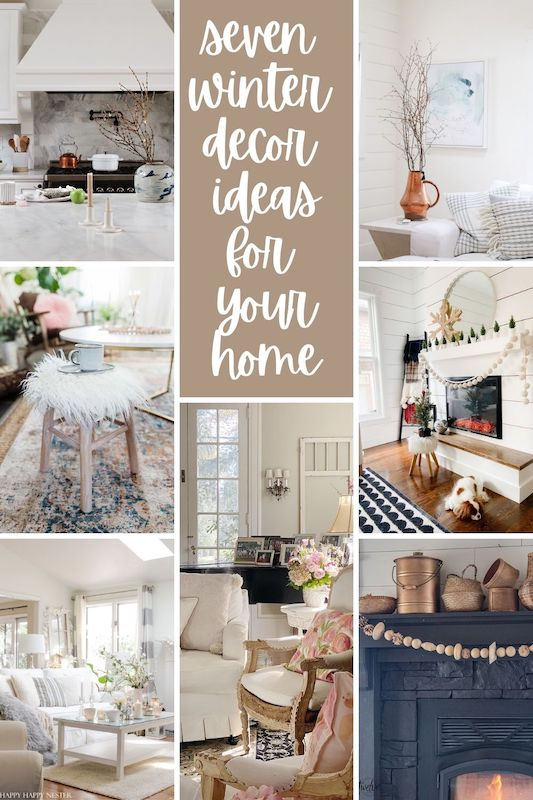 Seven Winter Decorating projects and ideas to try!