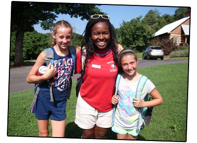 Camp Counselor and Campers
