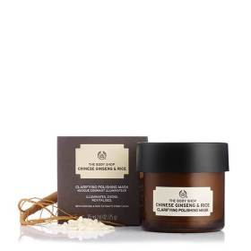 The body shop chinese ginseng rice clarifying polishing mask