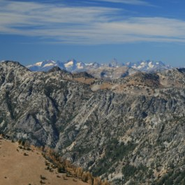 Spires of the North Cascades, with Goode Mt, Buckner Ridge, Sahale Peak and others...