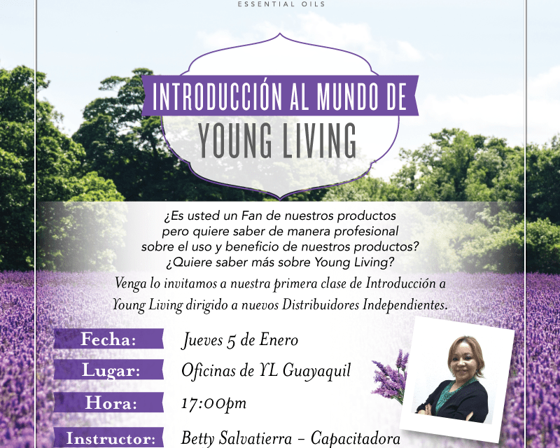 Introduccion al Mundo de Young Living