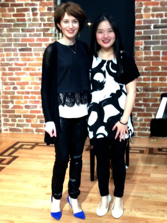 After the concert with Tien Hsin Wu