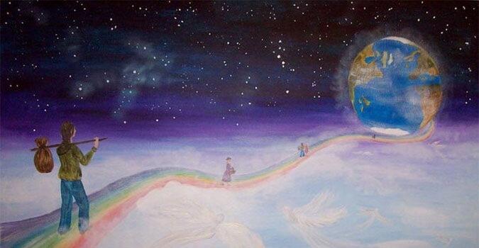 Путь Души в материальный мир