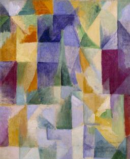 Windows Open Simultaneously (First Part, Third Motif) 1912 Robert Delaunay 1885-1941 Purchased 1967 http://www.tate.org.uk/art/work/T00920
