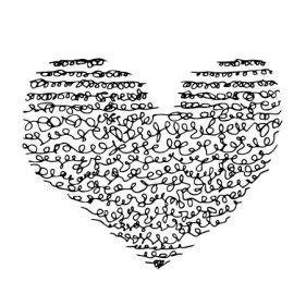Lines heart - Love