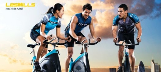 Les Mills RPM — Raw Power in Motion
