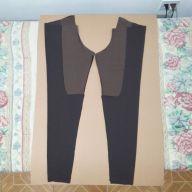 Tecido cortado: calça