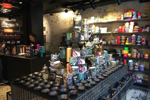 T2 store in Shoreditch