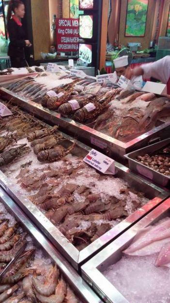 pattaya deniz ürünleri