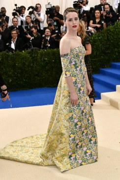 Claire Foy in Erdem