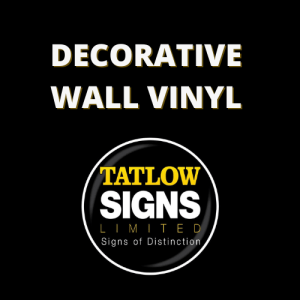 Decorative Wall Vinyl