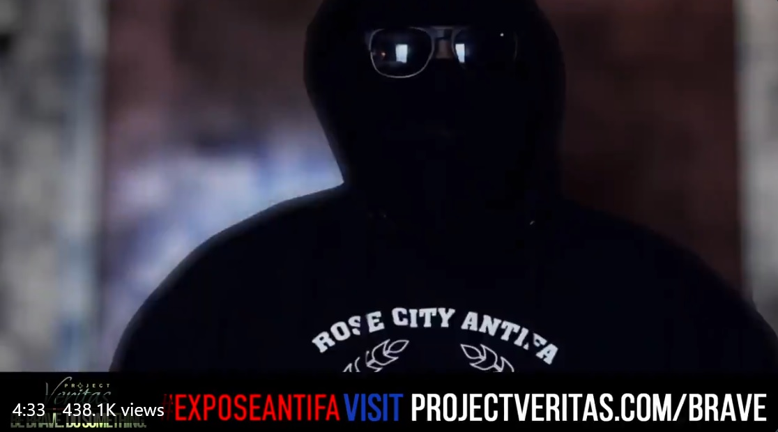 BREAKING: @Project_Veritas  INFILTRATED ANTIFA