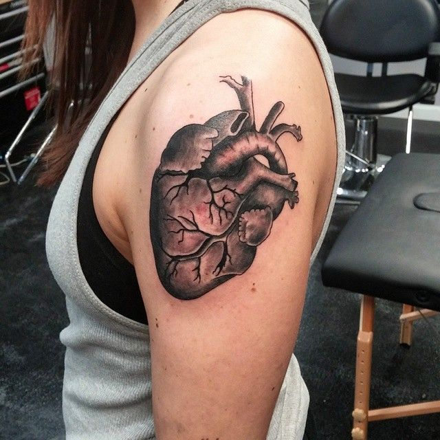 Knife Heart Tattoo Designs