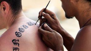 Le tatouage temporaire