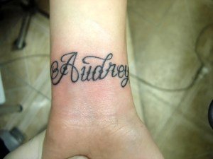 tatouage audrey