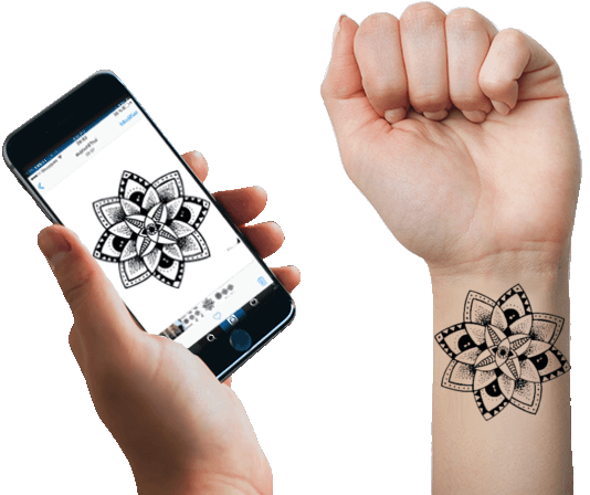 Tatouage Temporaire Personnalise A L Unite Tatouage Ephemere