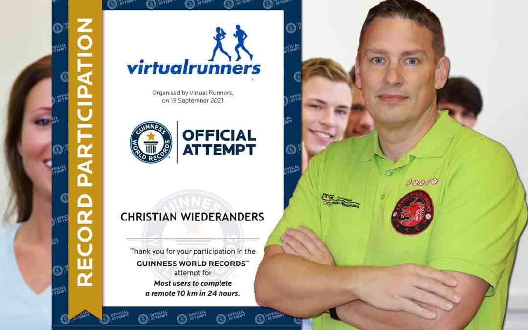 Christian Wiederanders *Guinness World Records* Teilnehmer