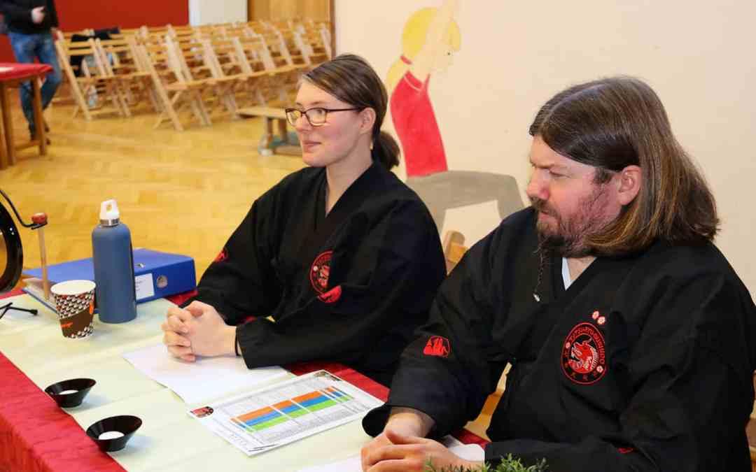 Tatsu-Ryu-Bushido Gürtelprüfungen am 19.12. in Waldbronn