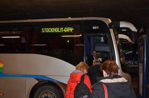 アーランダ空港からの高速バス
