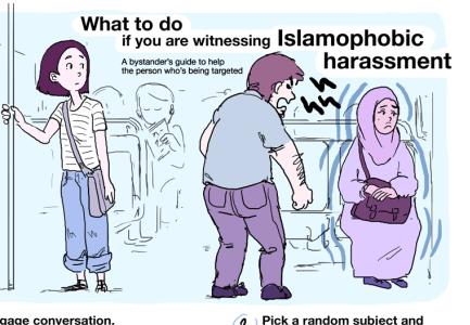 いじめ, セクハラ, 差別, 何をしたら?イスラム恐怖症, イスラムホビア