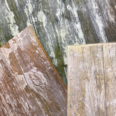 A Mini Tutorial : Weathered Wood with the 3D Lumber Texture Fade