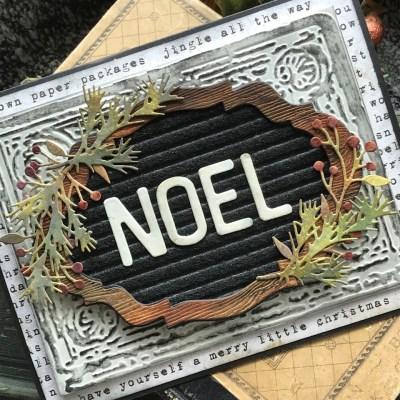 NOEL- A Letterboard Christmas Card