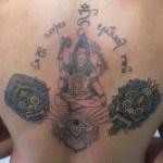 Balinese tattoo by Warsa Tattoo Ubud