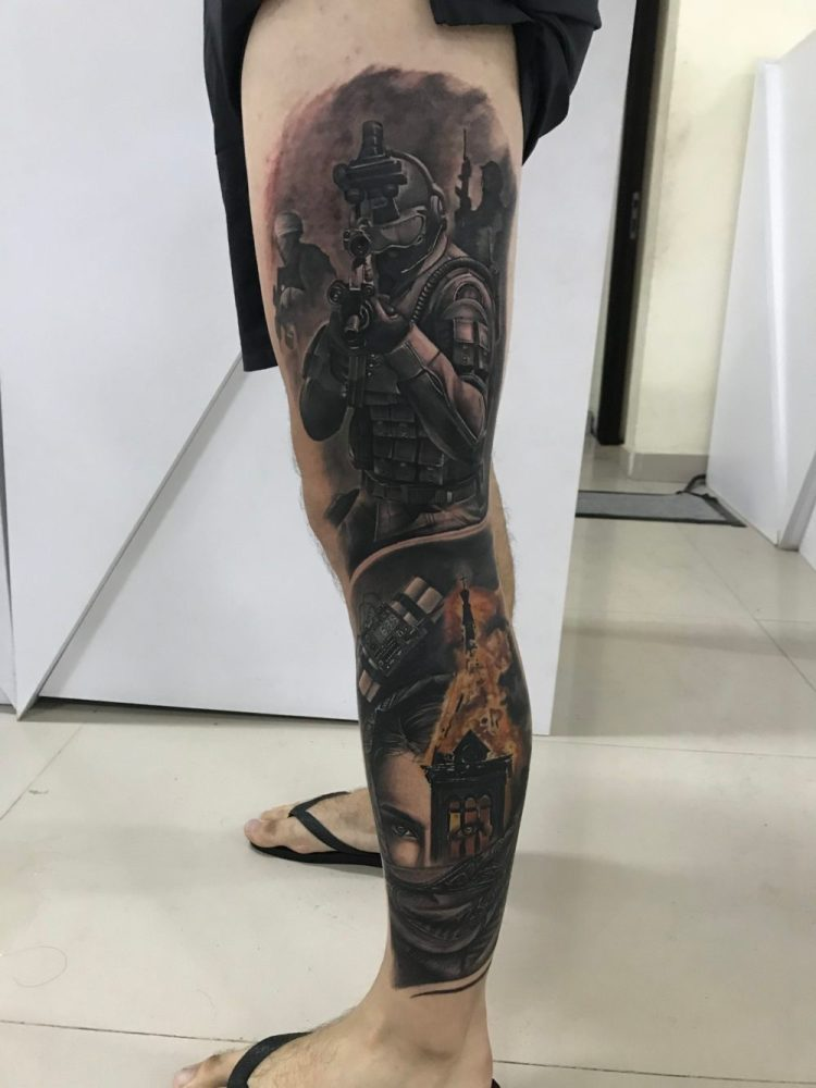 Danny Tompel Tattoo, Inked Up Tattoo Parlour