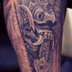 rangda tattoo by eka waves