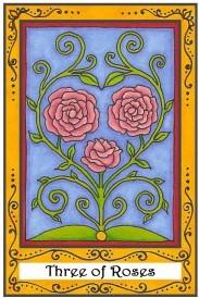 Trio of roses design